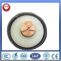 High voltage cable:66kv-220kv XLPE insulated power cable