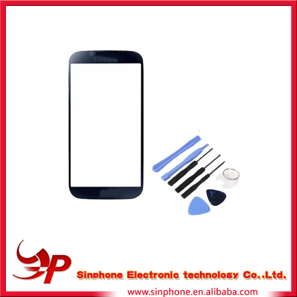 Cheap price Front Glass Repair Part for Samsung Galaxy S4 Mini with high quality