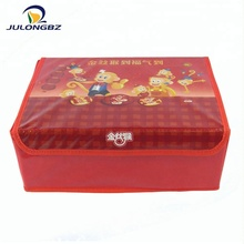 New fashion Eco-Friendly Foldable Non-Woven Storage Box for Toy And Clothing