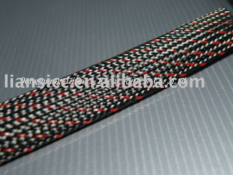 PET braided sleeve for cable