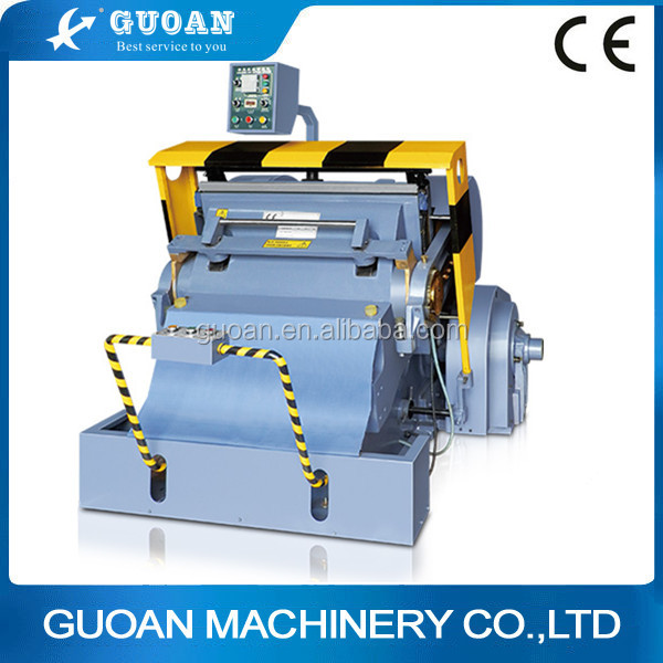 ML model Wenzhou hand operate CE standard paper die cutting machine price
