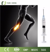 Hyaluronic acid knee injectable dermal filler to protect legs