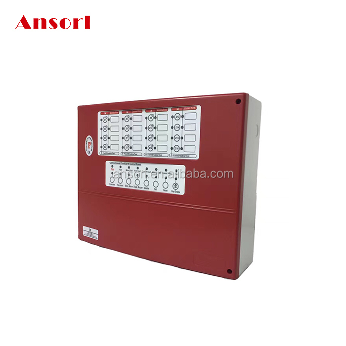 16 Zone Conventional Fire Alarm Control Panel