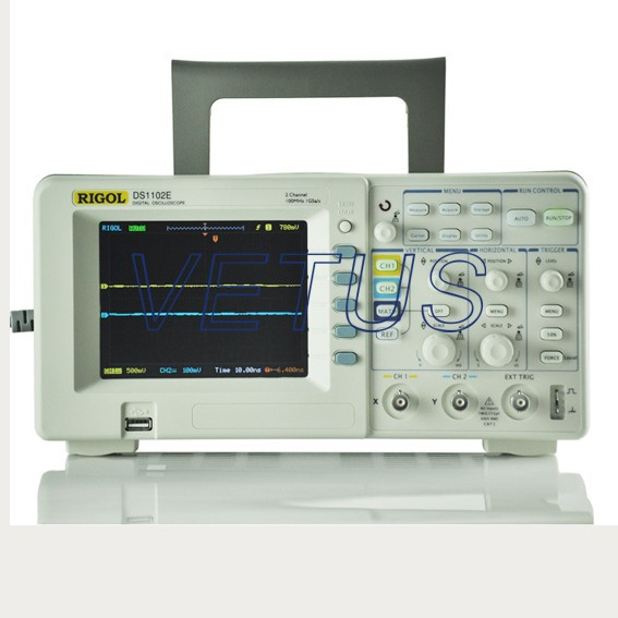 RIGOL DS1102E 50MHZ with 16-channel digital storage oscilloscope