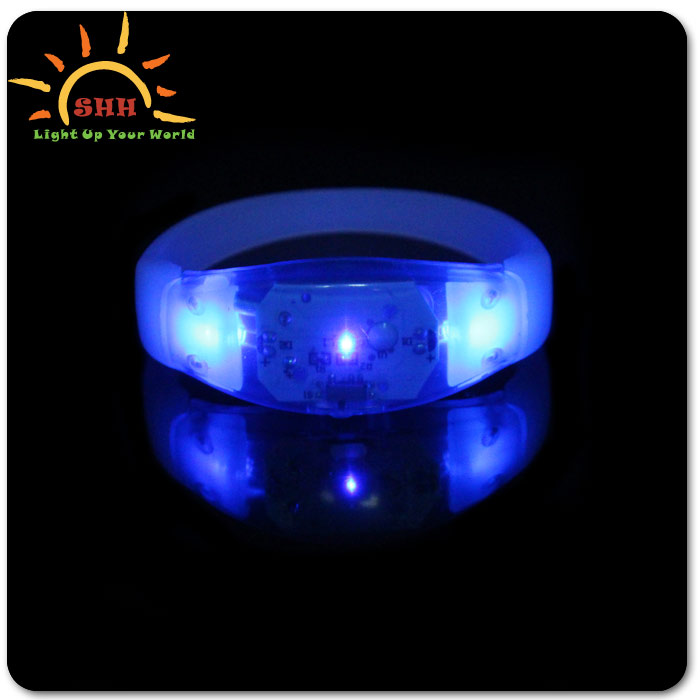 new products 2016 led wristband cool novelty products led custom motion activated led bracelet