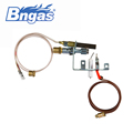 B880308-NG wholesale room safety gas heater parts ods pilot burner with flame sensor