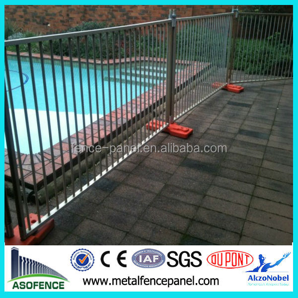 2014 cheap and removable temporary pool fence