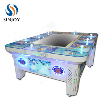 Tiger Strike fish hunter arcade game cheats/Shooting fish game machine/Fishing table gambling machine