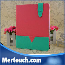Nice various colors colorful Pocket card holder tablet case for iPad air 2 3 4