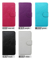 High quality stand leather case For LG Optimus F6