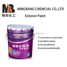 Waterproof exterior wall paint colors