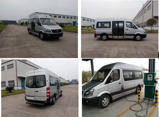 China supply 12 seat electric passenger car new 6 meter pure electric bus for sale