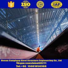 Light Type and Q235B, Q345B Steel Grade Space Frame
