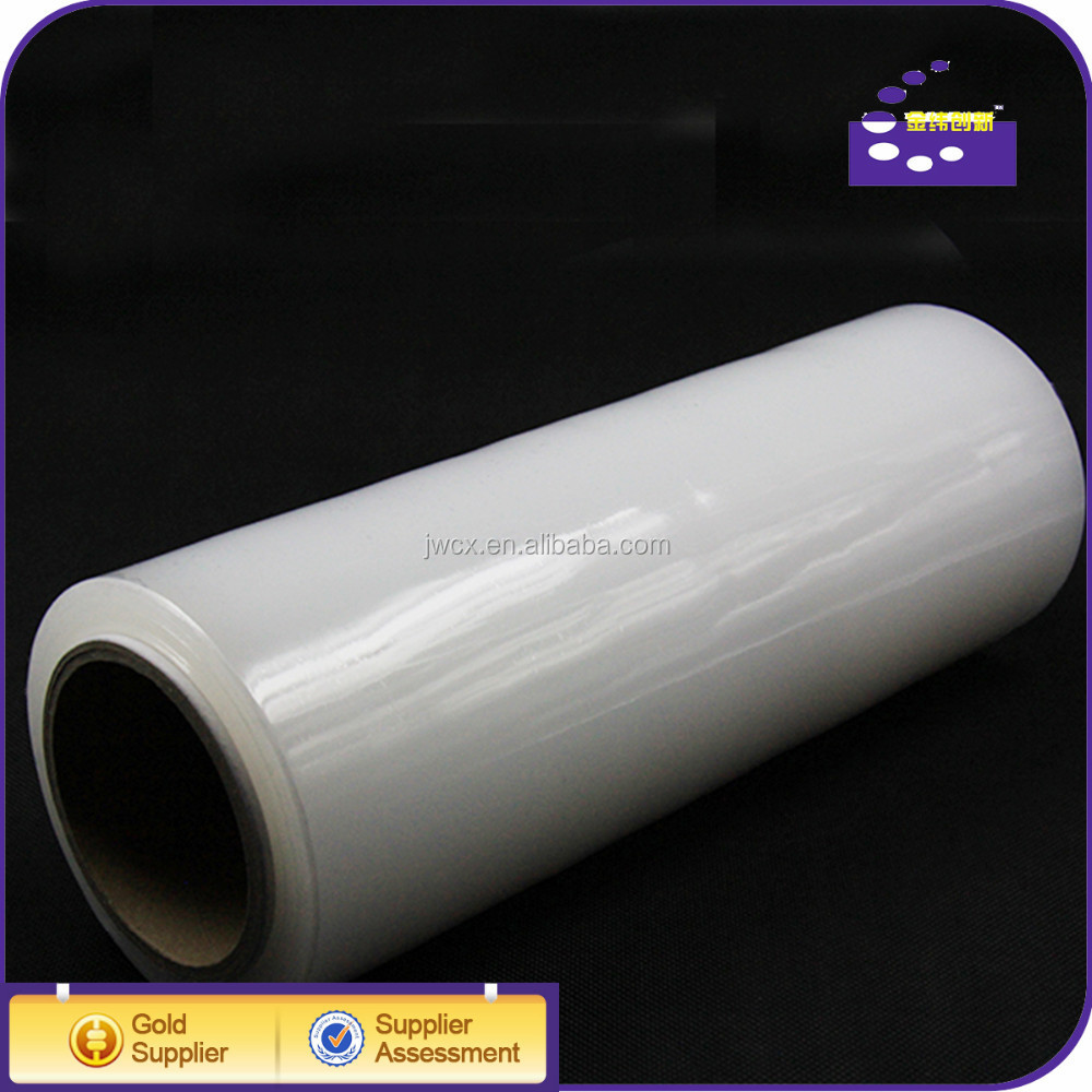 2015 soft clear cling wrap food packing pe film
