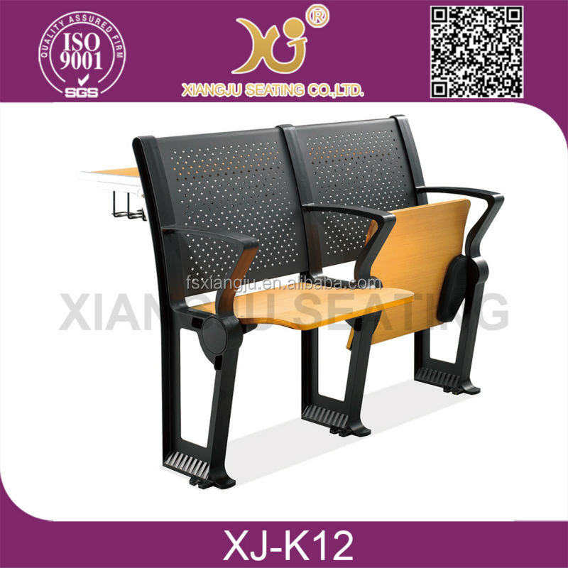 school auditorium chairs, college school auditorium seating chair, plastic frame auditorium chair XJ-K20
