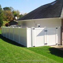 Euro pvc fence panels privacy fence