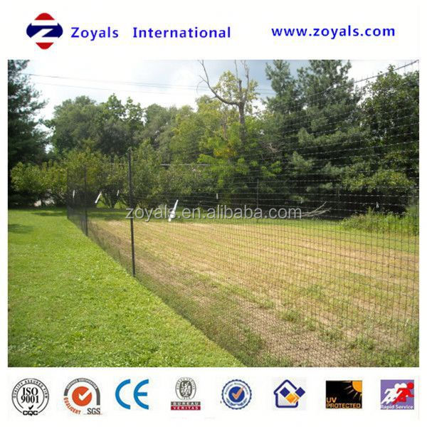 Professional ISO Manufacturer cheap galvanized farm guard field fence