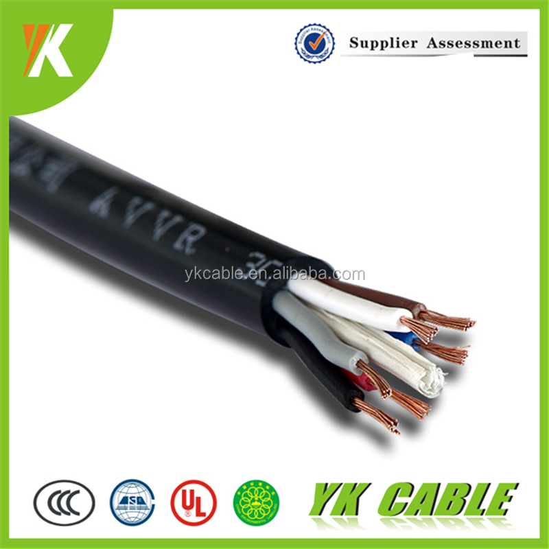 Conductor flexible electrical wire factory 6 core rubber cable cover