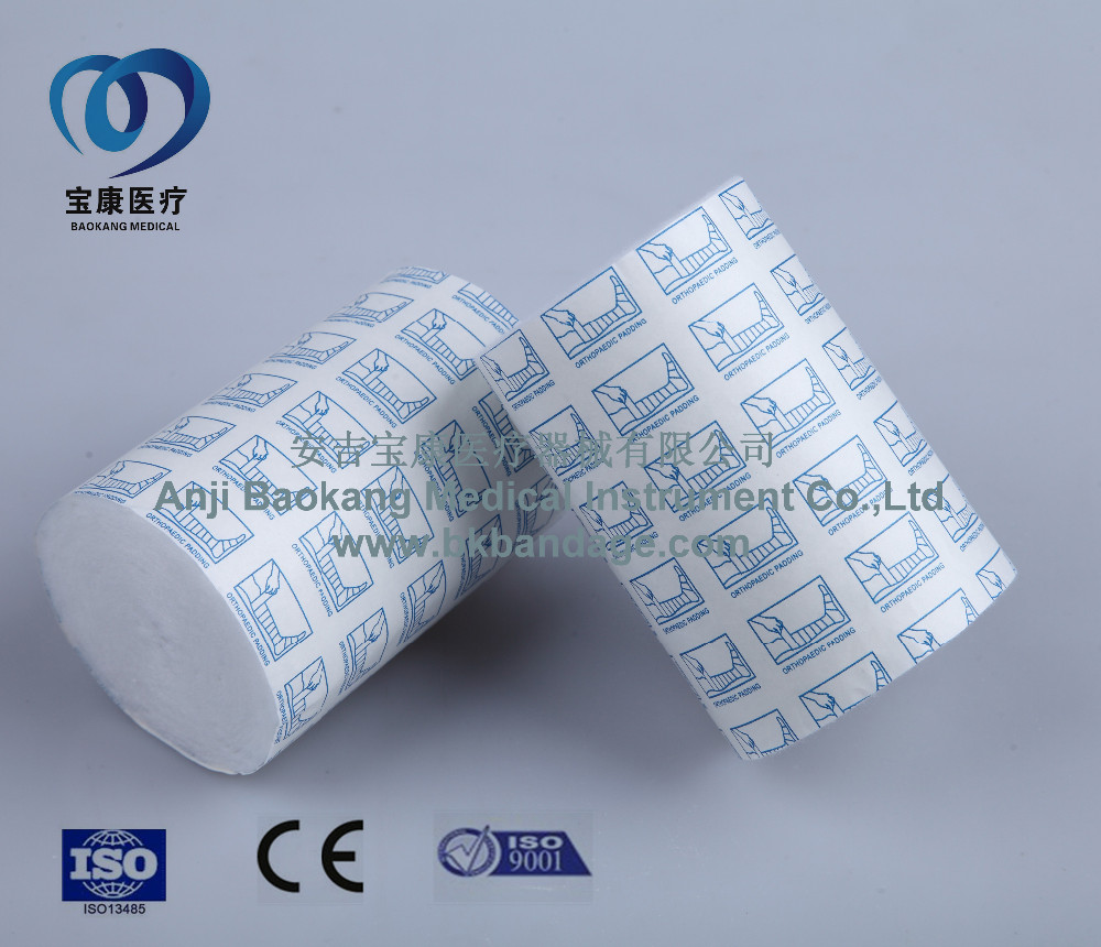 medical cotton orthopedic cast padding with CE &ISO 13485
