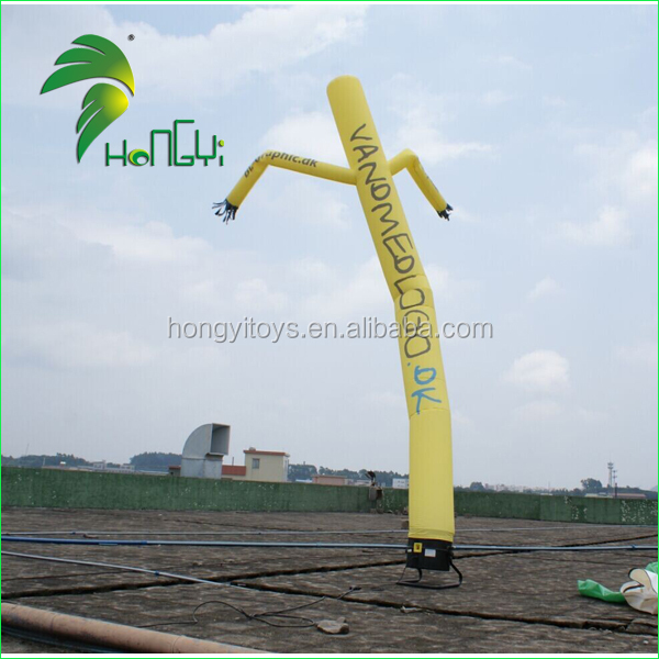 Sale Small Dancing Inflatable Advertising Man / New Style Cheap Promotion Single Leg Air Dancer