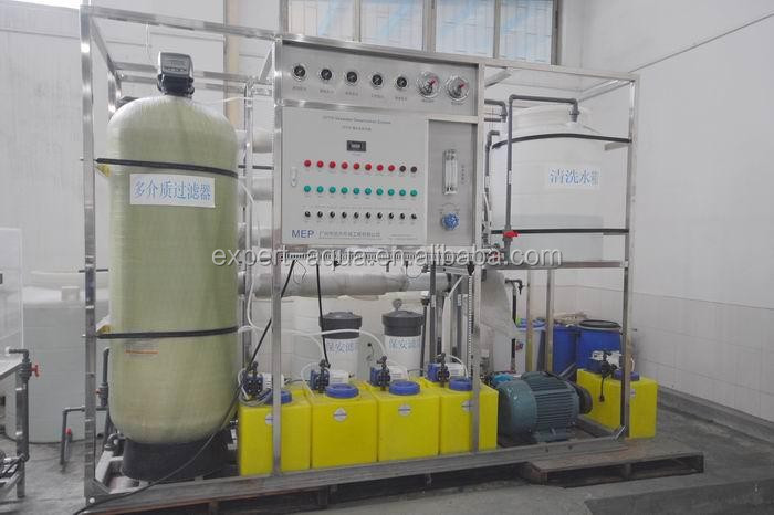 ocean water purification plant cost