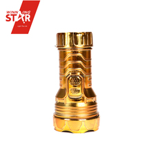 New Design Small Gold Silver 1 LED Flashlight, LED Torch