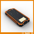 12000mAh Outdoor Solar Power Bank With Big Camping Torch