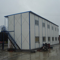 light wight flat roof steel building for factory, workshop, etc