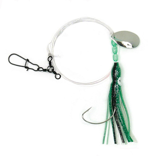 Customized stainless steel circle hook deep drop fishing rig