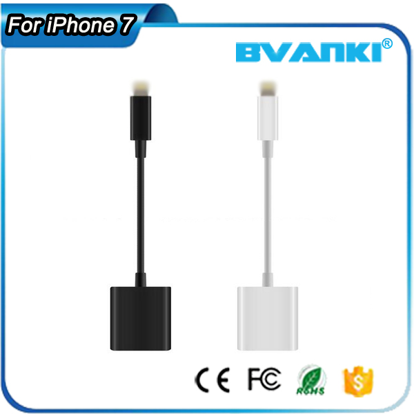 B2B Accessories Wireless Headphones For iPhone 5 Phone Jack Extension Headset Cable For iPhone 7