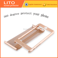 360 degree Full Cover cell phone case glass tempered screen protector for iPhone 6 6S