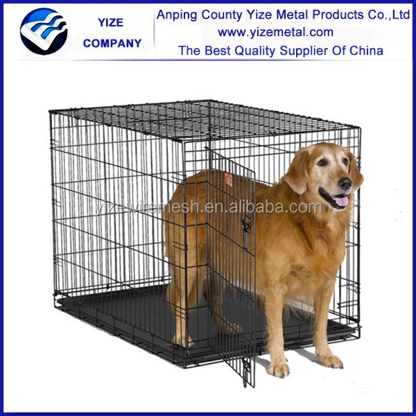 Hot sale pet carrier cages with pet bed for dogs