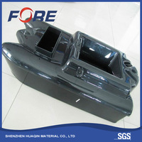 China ODM / OEM Vacuum Forming Remote Control RC ABS Plastic Hulls Carp Fishing Bait Boat For Delivery