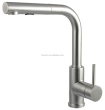 C-64F Stainless steel classic pull out kitchen faucet