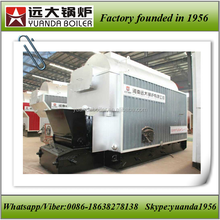 Solid fuel fired boiler steam press machine