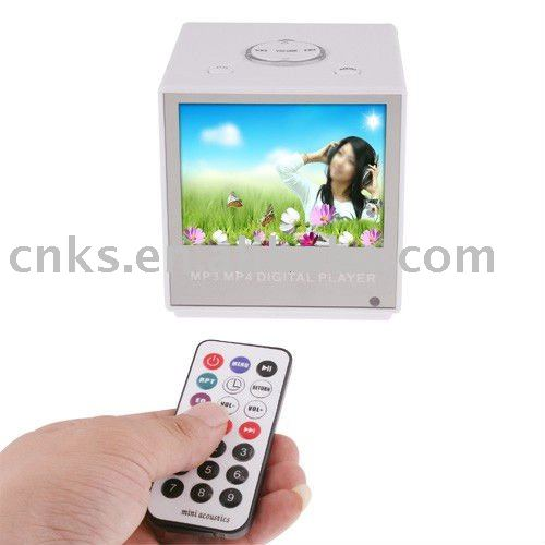 "Multimedia Speakers Build-in 3.5"" Touch screen MP4 Player"