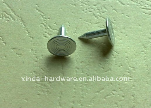 9mm 9.5mm 10mm 10.5mm 11mm 12mm Aluminum sharp nail for button