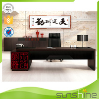 Sunshine Antique Design Boss Office Used Modern Wooden Luxury Table Furniture Wholesale From China