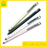 Newest 2016 active stylus touch pen with USB charging for samsung mobile phone and ipad pro