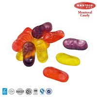 Colorful shoe shape candy gummy manufacturers