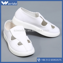 The Best China White ESD Leather Shoes With Four Holes from sinok