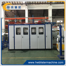 PLC control automatic thermoforming machinery for food container