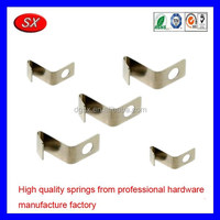 OEM stainless steel clip flat leaf spring,flat spring clip battery aa contact clip