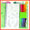 New Creative oem pen book, child pen book, magic pen book