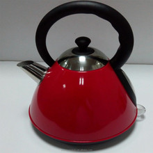 Hot sale Red teapot electric kettle with outlet
