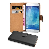 For Samsung Galaxy A8 Wallet Flip Pu Leather Phone Case Cover, PU Leather Flip Wallet Stand Case Cover for Samsung Galaxy A8