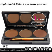 Create your own brand private label eye shadow 3 color palette Makeup