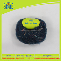 made in China buying in bulk wholesale brushed mohair fancy yarn for knitting sweaters