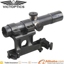 OEM Custom Steel Optical 4x20 Mosin Nagant Scope Gun Riflescope for Rifle Hunting with Side Steel Mount
