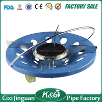 CiXi JinGuan Mini Portable Camping Stove,Super Blue Flame Stove Cooker,LPG Gas Camping Gas Stove